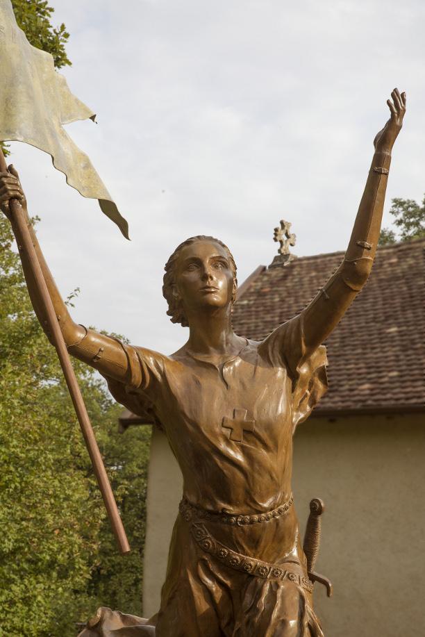 Jeanne d'Arc de retour chez elle