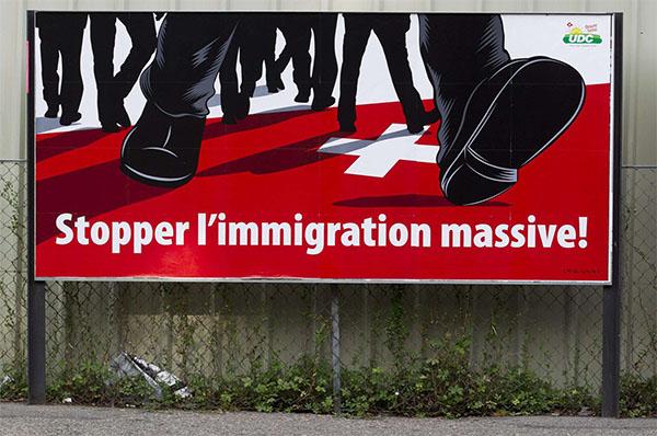 La Suisse dit non à l'immigration de masse
