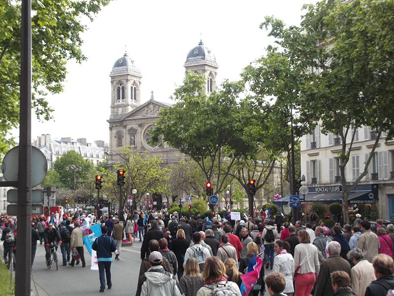 Invalides, 26 mai 2013 : les premières émeutes