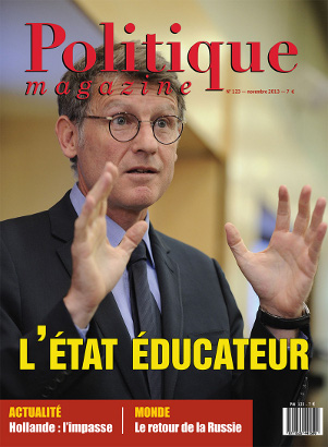 N° de novembre : L'Etat éducateur