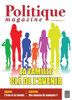 N° de janvier : La famille, clé de l'avenir