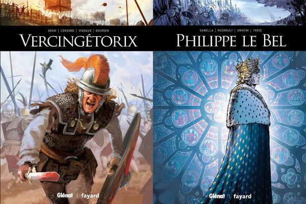 Deux histoires françaises en BD