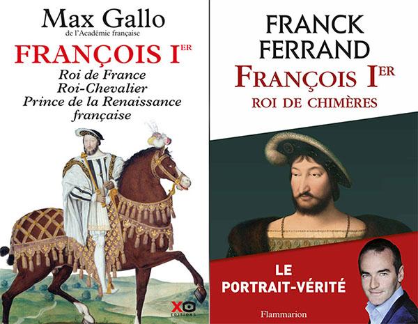 Deux livres sur François 1er