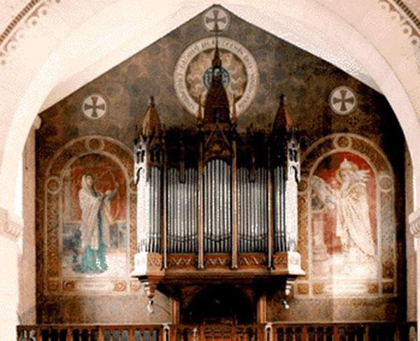 Dimanche 16 novembre : récital d'orgue