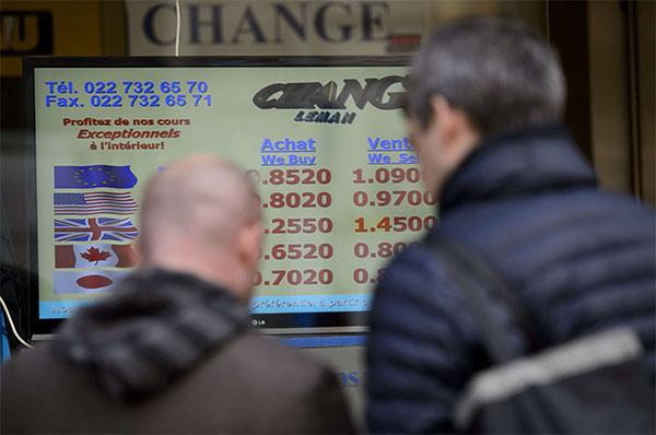 Suisse : franc fort contre Francfort