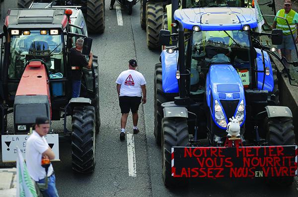 Attention à la colère des paysans
