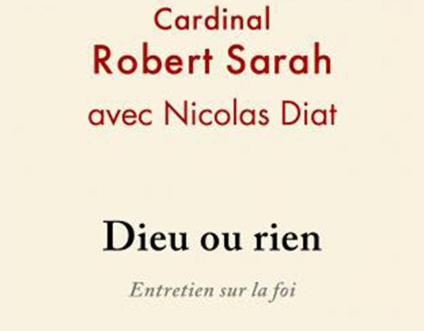 L'exemplaire Cardinal Sarah