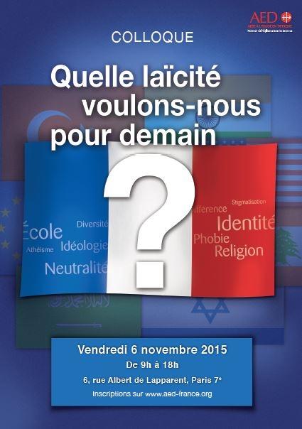 Conférence : quelle laïcité voulons-nous pour demain ?