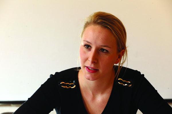 Marion Maréchal-Le Pen : «Le plafond de verre est une légende médiatique»