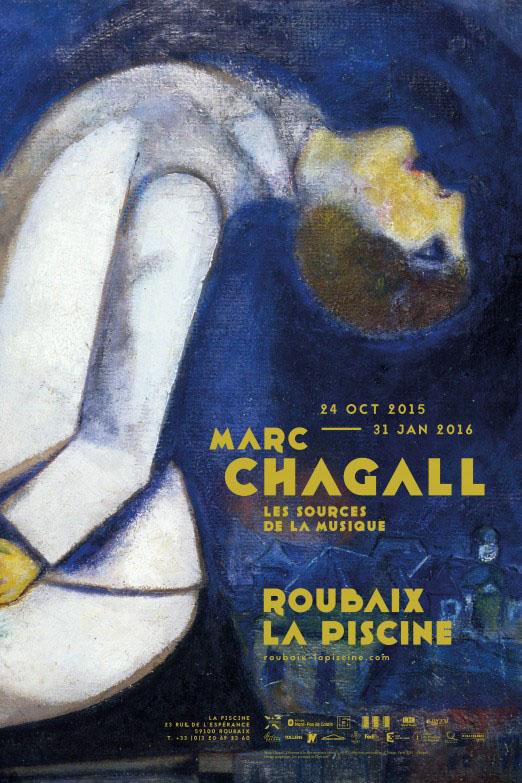 Entre couleurs et sons : Roubaix célèbre Marc Chagall (1887-1985)