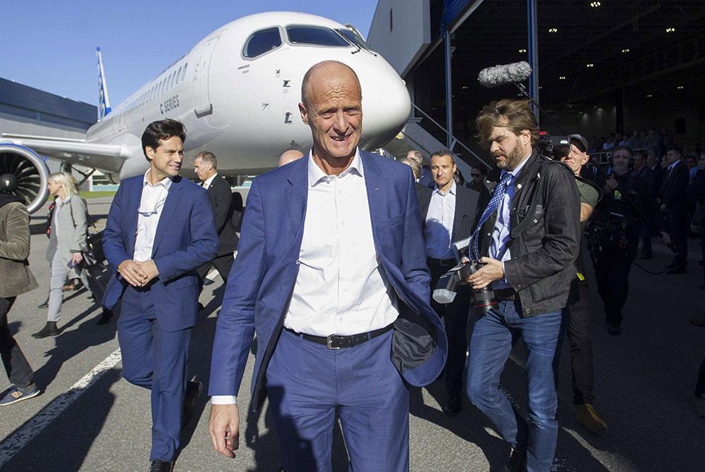 Airbus: après le train, l'avion