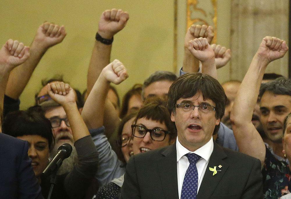 Catalogne: Points d'Histoire et réalités d'aujourd'hui