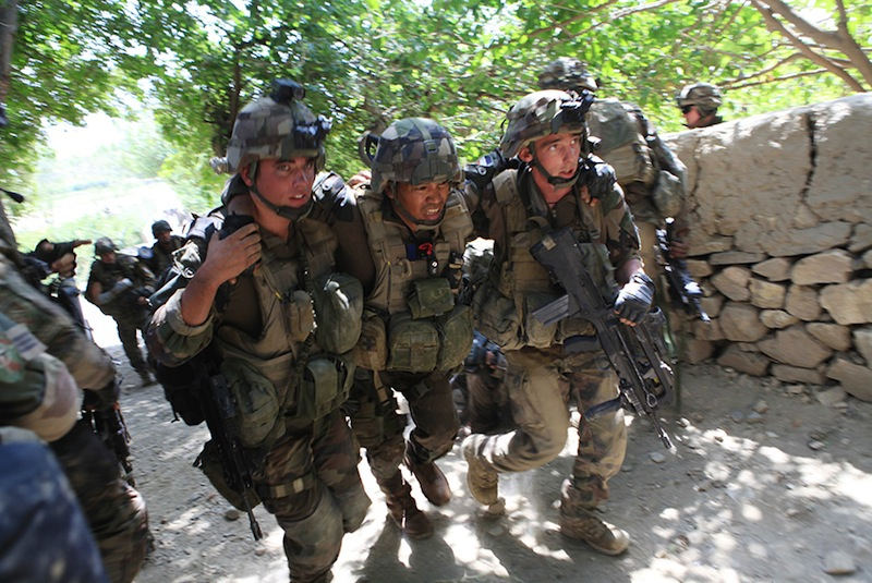 En Afghanistan…