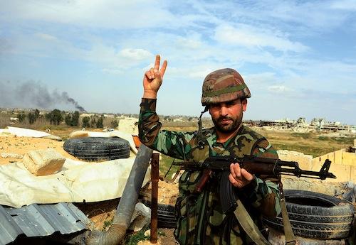 La Syrie, lieu d'affrontements militaires et diplomatiques
