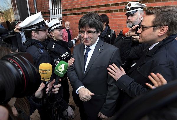 L'Union européenne, l'Allemagne et la Catalogne