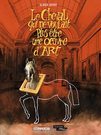 BD. Le cheval qui ne voulait plus être une œuvre d'art