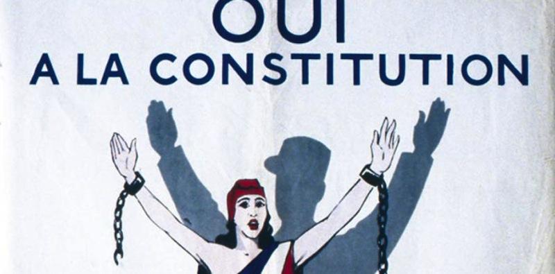 Constitution de la Ve République, la seule vraie question