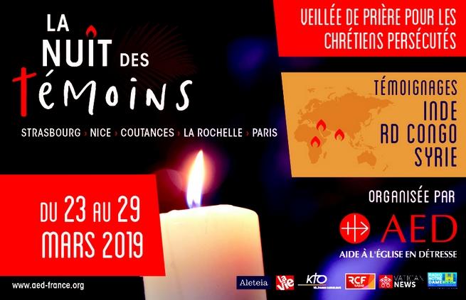 """11e Nuit des Témoins : quand une flamme vacillante traverse """"l'épaisseur des nuits"""""""