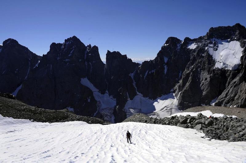 Pierrette Mari et l'attraction des sommets