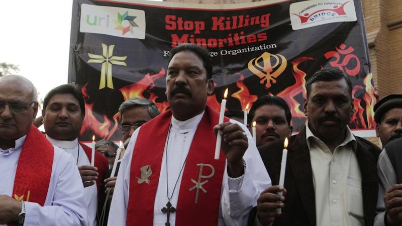 SOS pour les chrétiens du Pakistan