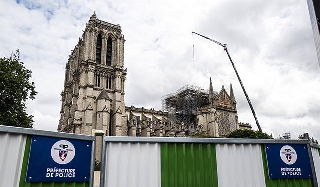 Le combat pour Notre Dame