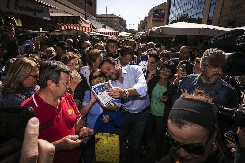 «Salvini a réuni sous sa houlette les souverainistes de tous les horizons politiques.»
