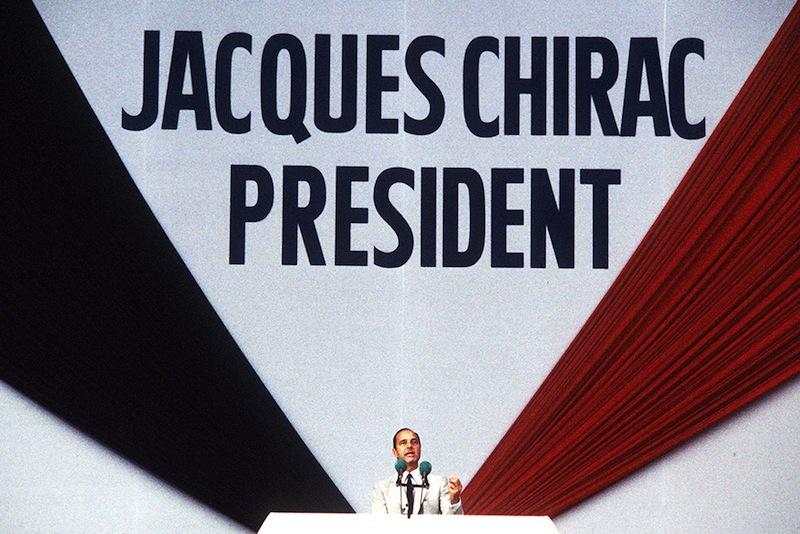 JACQUES CHIRAC, SYMBOLE DE L'INCONSISTANCE DE LA DROITE RÉPUBLICAINE