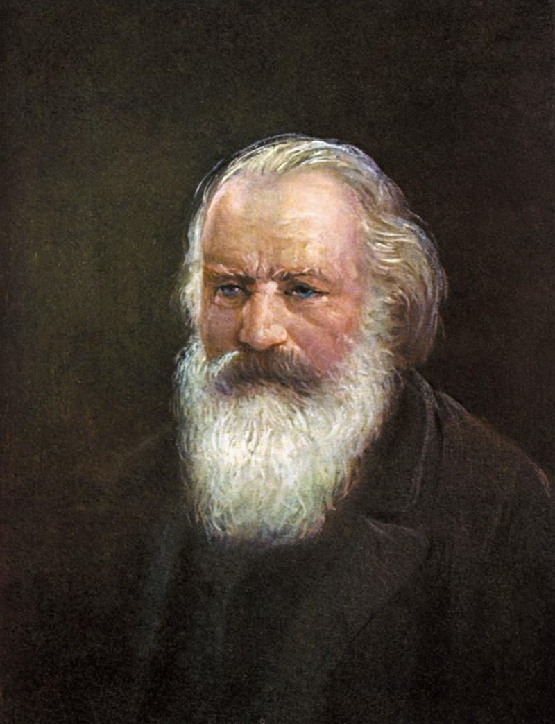 Crépuscule azuré pour Johannes Brahms (1833-1897)