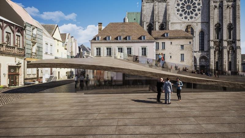 Chartres flambant neuf pour les JO de 2024?