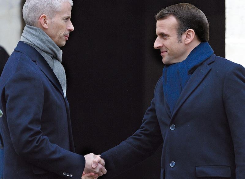 10, mars, Franck Riester, ministre de la Culture, testé positif. – T'existes tellement pas que t'es pas contagieux, Franck. Merci, M. le président.