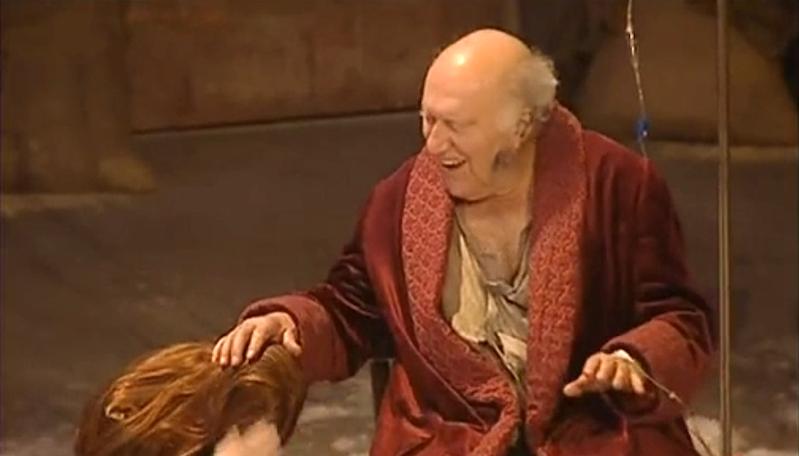 Piccoli, le Roi Lear