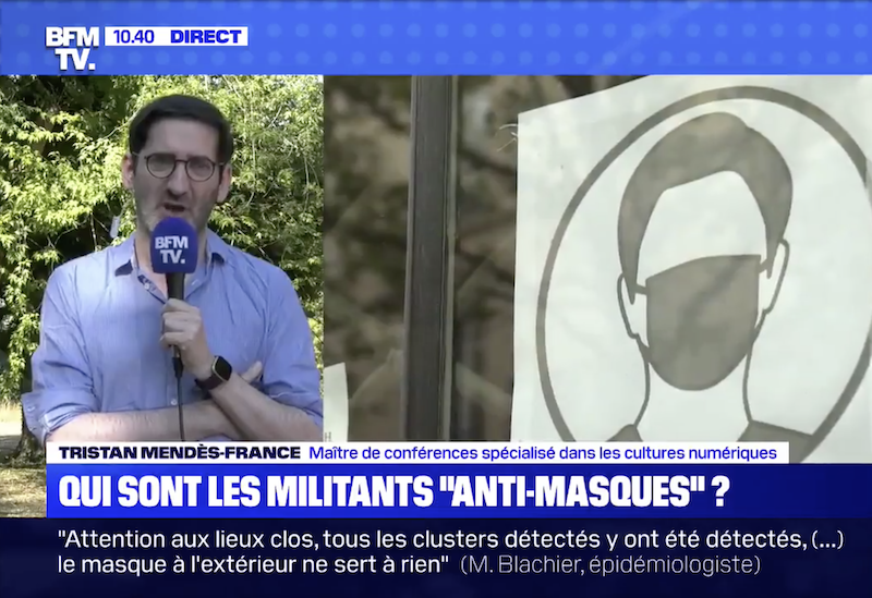 TRISTAN MENDÈS-FRANCE: UN ADVERSAIRE PEU CONVAINCANT DES OPPOSANTS AU MASQUE