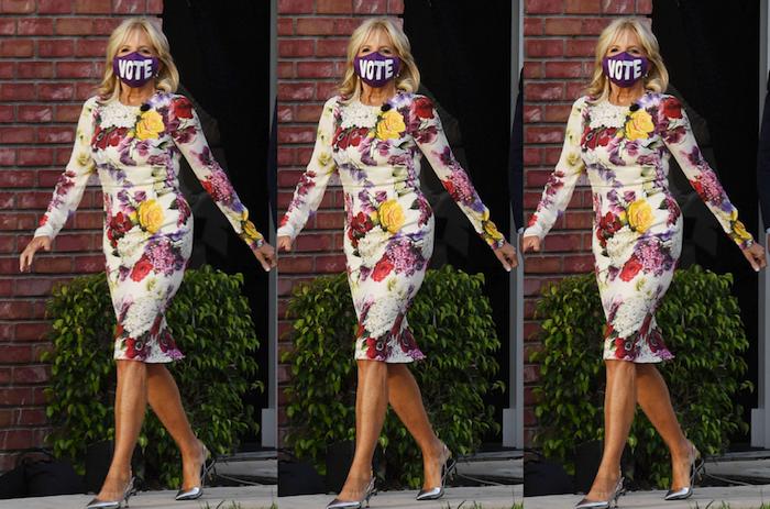 Défilé de mode Démocrate, avec Jill Biden, qui se souvient de ses années de mannequinat.