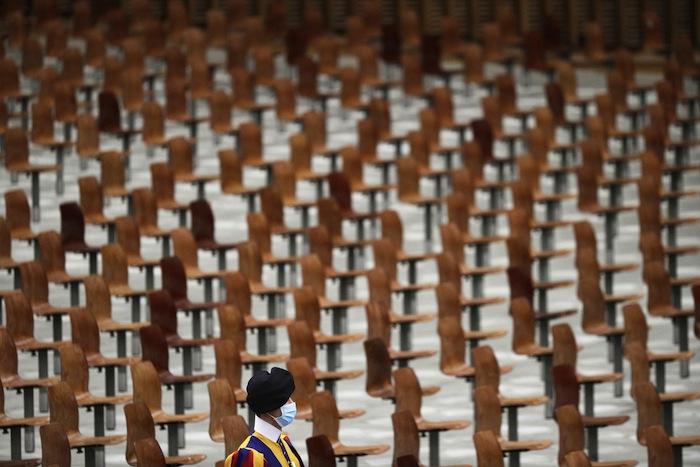 Audience générale au Vatican, octobre 2020. La popularité de François est intacte.