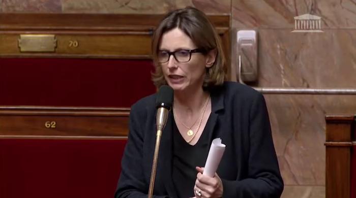 Emmanuelle Ménard répond aux vœux de Richard Ferrand
