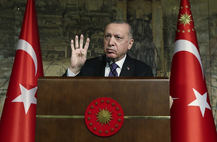 Erdogan frappede nouveauà la porte de l'Europe